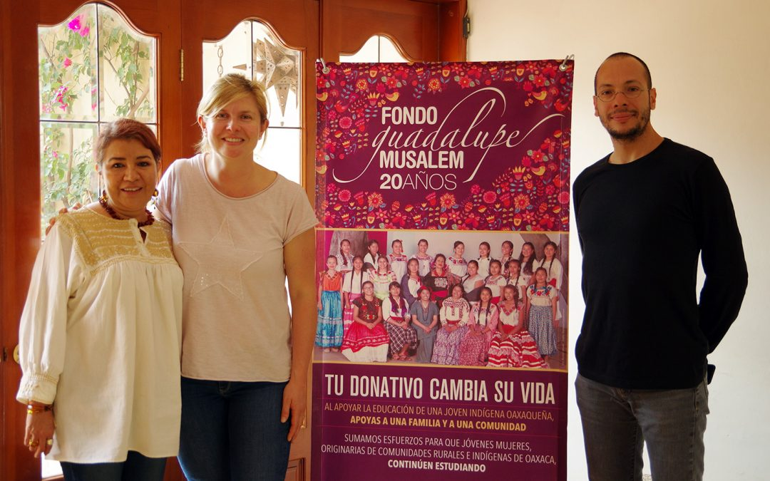 Deux nouvelles bourses pour des étudiantes de l'état de Oaxaca