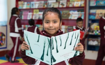 Inauguración de la biblioteca para niños en San Francisco Chindúa